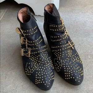 Jeffrey Campbell studded bootie